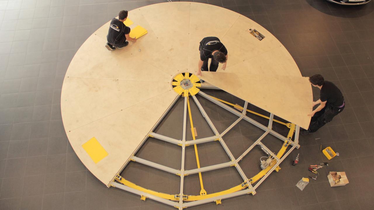drehscheibe 5 5 m kaufen pre motion. Black Bedroom Furniture Sets. Home Design Ideas