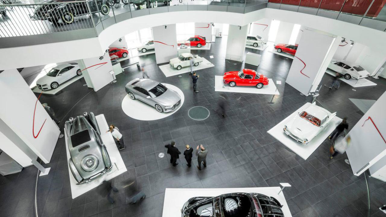 Drehscheibe Automuseum Audi Ingolstadt | Pre-Motion